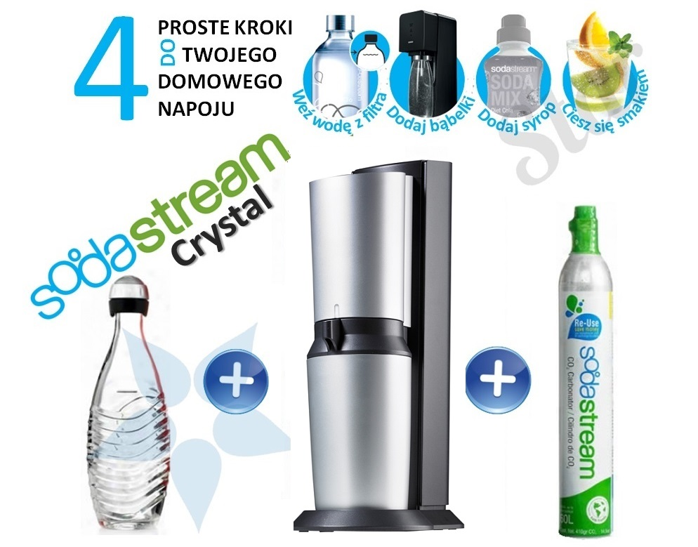 Sodastream Crystal, Water star