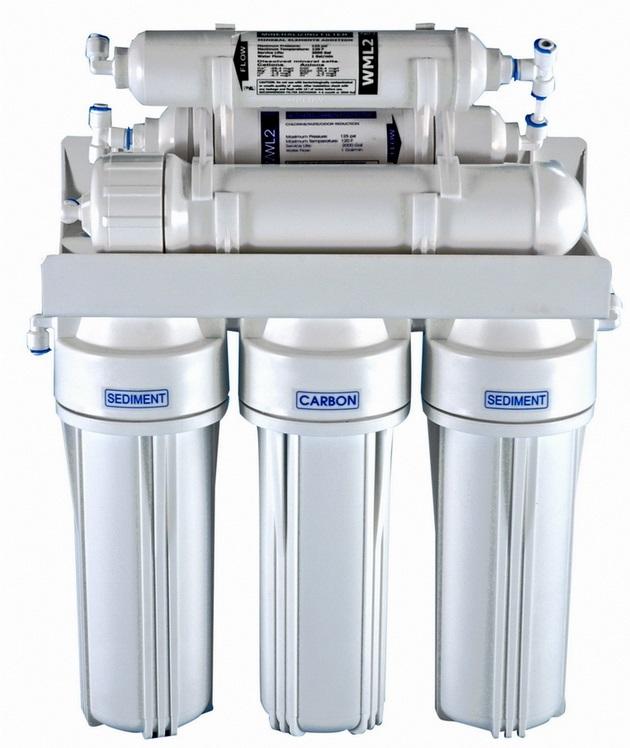 Odwrócona osmoza RO6, filtr do wody osmoza
