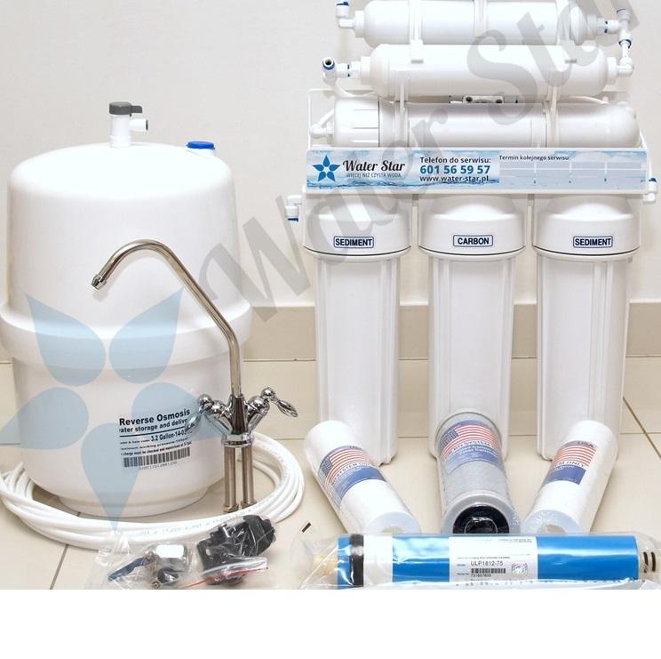 Odwrócona osmoza Ro6 Ro7, filtr do wody osmoza