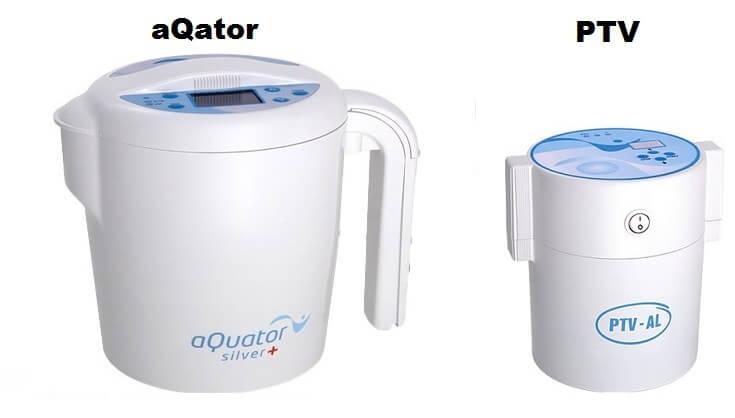 Jonizatory do produkcji wody srebrnej