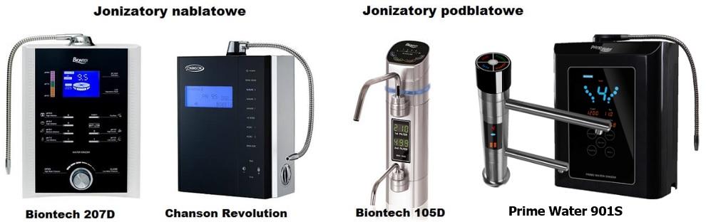 Jonizator pod blat, jonizator wody alkalicznej