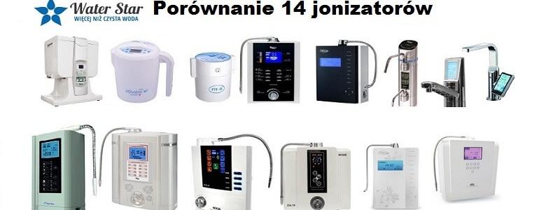 Porównanie 14 jonizatorów – ranking