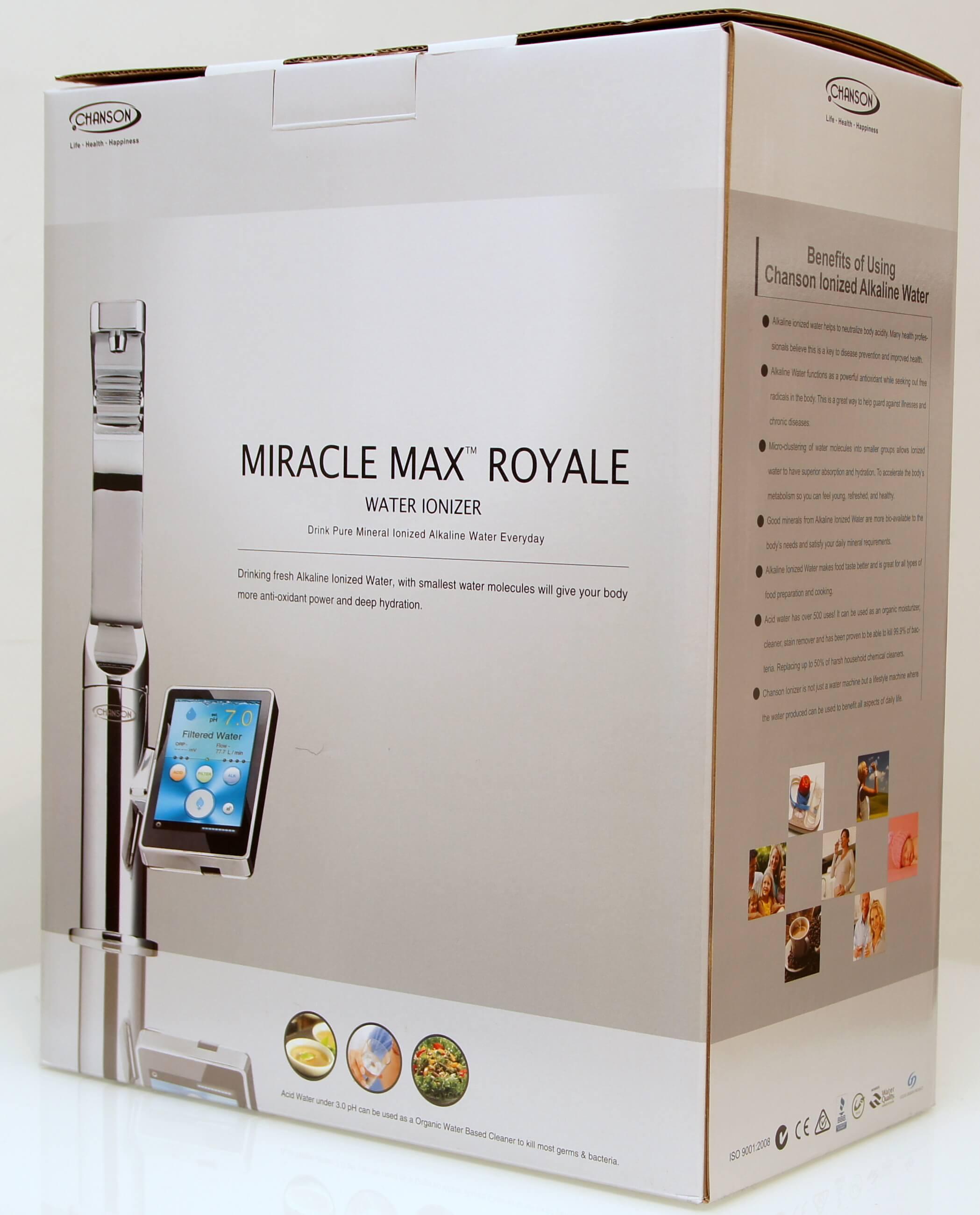Chanson Miracle Royale Water Star port na minerały jonizator wody ekskluzywny najdroższy
