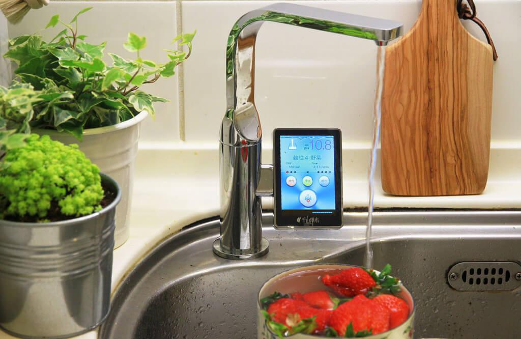 Chanson Miracle Royale jonizator wody ekskluzywny luksusowa bateria do wody do kuchni