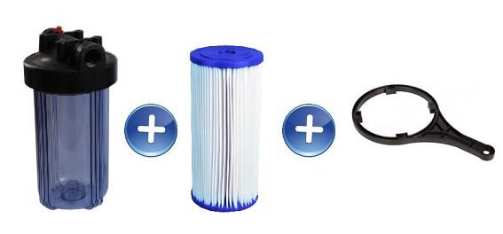 Filtr narurowy Big Blue BB10 przezroczysty wkład