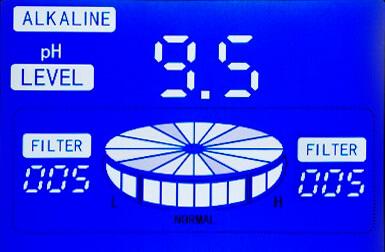 Biontech 101s, jonizator wody, panel sterujący Water Star