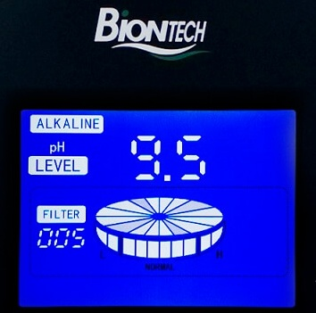 Biontech 303, jonizator wody, panel Water Star