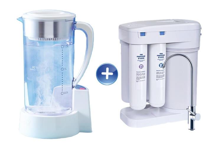 Arui Ellaim Hendy generator wodoru jonizator wody H2 redox Aquaphor Morion