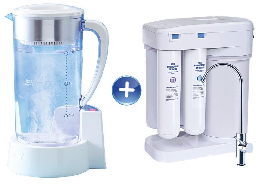 filtr do wody generator wodoru Arui Ellaim