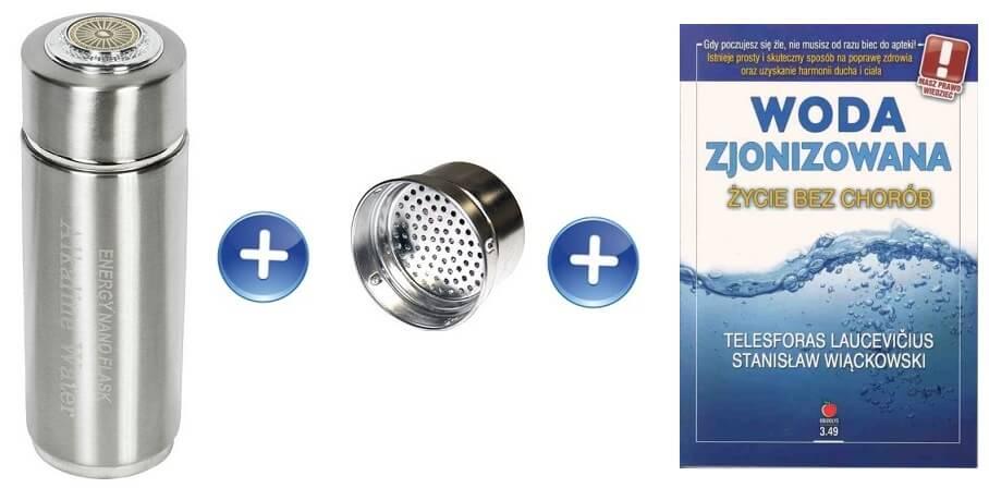 Water Flask jonizator woda alkaliczna bidon alkaliczny