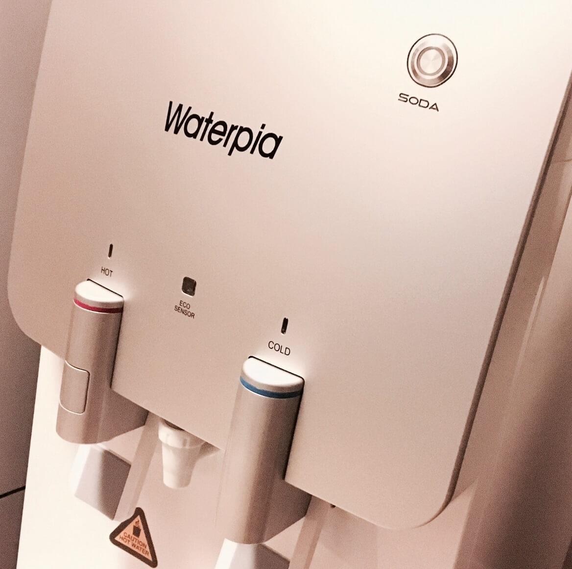 Dystrybutor do wody bezbutlowy, filtrujący Waterpia, warszawa, dystrybutor bezbutlowy