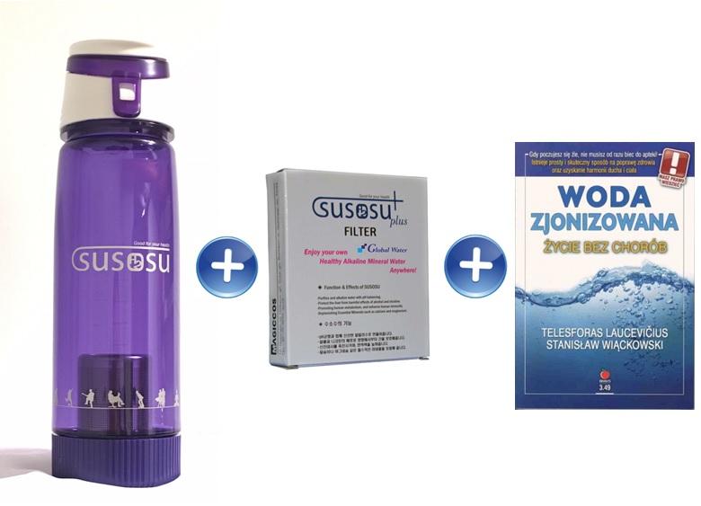 Susosu Water Flask jonizator woda alkaliczna bidon alkaliczny