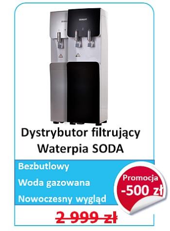 dystrybutor wody gazowanej