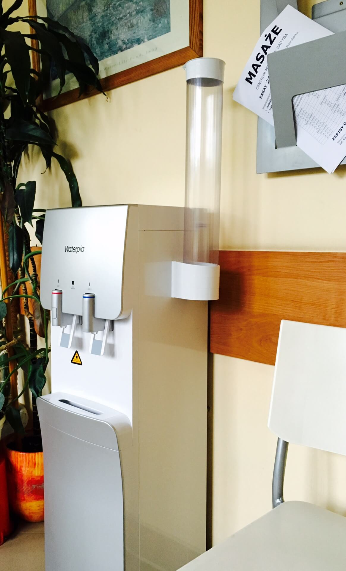 Dystrybutor filtrujący Waterpia- przychodnia lekarska