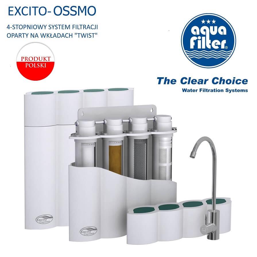 Aquafilter Excito Ossmo, Excito Wave, Ro7, Ro6 odwrócona osmoza