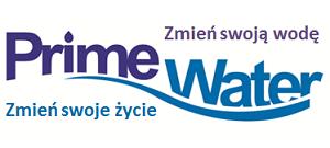 Prime Water logo Ionizers, jonizatory wody